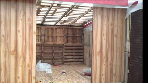 DIY Building A Big Storage S Shed Or Cabin With Free Recycled Pallets