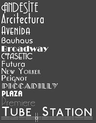 deco typography history stylesforstarters home