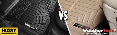 Weathertech Floor Mats Nissan Xterra by Husky Liners Vs Weathertech Choosing The Best Floor Mats U0026 Cargo