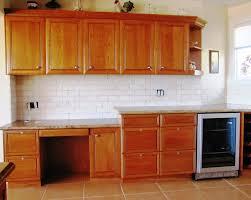 Kitchen Backsplash Designs With Oak Cabinets by Subway Tiles Kitchen Backsplash Ideas Zyouhoukan Net