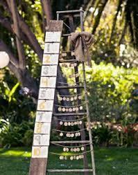 WeddingChannel Galleries Antique Ladder Seating Chart Display