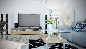 Wonderful Home Furniture Design Ideas With Blue Gray Sofa Alluring Using Rectangular Glass