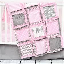 Elephant Baby Girl Crib Bedding Baby Pink Gray Nursery – A
