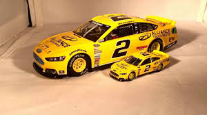 Review: 2014 Brad Keselowski #2 Alliance Truck Parts Ford 1/24 ...
