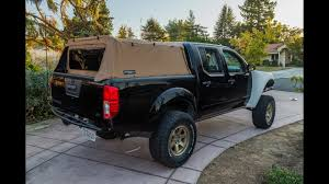 100 Canvas Truck Cap Ep 2 Soft Topper Install