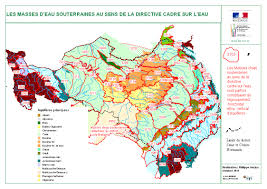 les masses d eau souterraine au sens de la directive cadre