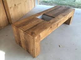 Pallets Bench With Succulent Planter Space