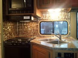 Rv Remodeling Ideas Gorgeous RV Galley Remodel