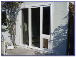 patio door dog door canada patios home decorating ideas