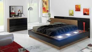 BedroomRemarkable Bedroom Design With Black Bed Cover And Light Pallet Also Silver Standing