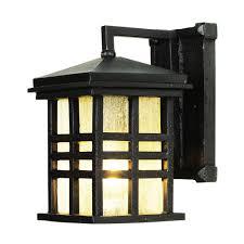 bel air lighting stewart 1 light black outdoor incandescent wall