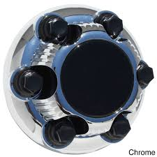 Oxgord GMC/ Chevy Bolt-on Center Cap (Black) | Cap, Free Shipping ...