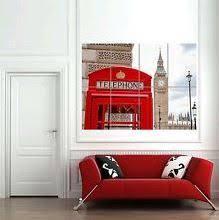 London Themed Room