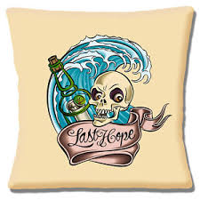 Image Is Loading Sailor Jerry Cushion Cover 16 034 X16