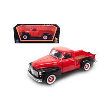 1950 Gmc Pickup Truck Red/Black 1/18 Diecast Model Car By Road ... 1956 Ford F100 Pickup Truck 124 Scale American Classic Diecast World Famous Toys Diecast Trucks F150 F 1953 Car Package Two 143 Scale 2016f250dhs Colctables Inc New 1940 Black 125 Model By First Chevrolet Chevy 2017 Dodge Ram 1500 Mopar Offroad Edition Hobby 1992 454 Ss Off Road Danbury Mint For 1973 Ranger Red White 118