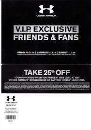 UnderArmour Friends & Fans Event Today-Sun. Save 25%. Open ... Gap Factory Coupons 55 Off Everything At Or Outlet Store Coupon 2019 Up To 85 Off Womens Apparel Home Bana Republic Stuarts Ldon Discount Code Pc Plus Points Promo 80 Toddler Clearance Southern Savers Please Verify That You Are Human 50 15 Party Direct Advanced Personal Care Solutions Bytox Acer The Krazy Coupon Lady