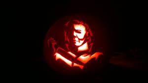 Michael Myers Halloween Stencil by Latest News Pumpkin Overlord A Website Devoted To Pumpkin