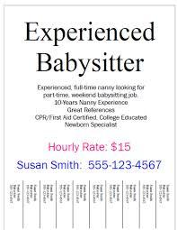 Baby Sitter Job
