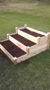 waist high raised garden bed plans diy pinterest raised