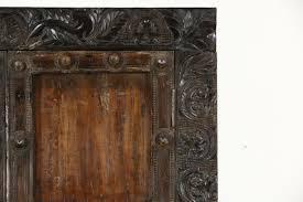 SOLD Dressing Table Vessel Sink Vanity or Bar From Teak Antique