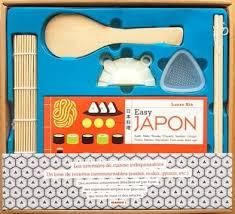 livre cuisine japonaise coffret cuisine japonaise recettes et ustensiles easy japon