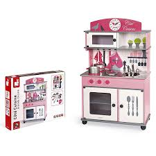 cuisine janod janod j06565 cote cuisine big wooden play kitchen janod j06565
