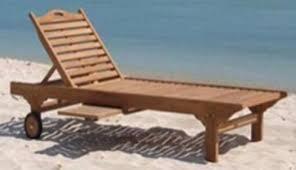 Koh Phangan Sun Lounger Chair IN STOCK