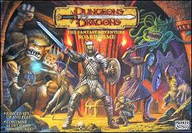 Dungeons Dragons The Fantasy Adventure Board Game