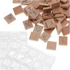 Scrabble Tile Point Distribution by 100 Scrabble Tiles And Epoxy Stickers Kit For Pendant Necklaces