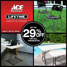 Replace Your Old Folding Tables & Chairs... - Ace Hardware ... Gocamp Portable Folding Table Chair Set Outdoor Camping Pnic Bbq Stool Max Load 120kg From Xiaomi Youpin 10pack Advantage 5 Ft Round White Plastic 10dadycz152rgwgg Granite Chairs Transportation Kit For Diner En Blanc Beach Table And Chair Set Cosco 5piece Square Intellistage Lweight 4x8 Dj Platform Package With 30 Replace Your Old Folding Tables Chairs Ace Hdware On Hand Expand Modern Ding Phi Villa 3 Piece Pink Patio Steel Chairsmetal Bistro Fniture The Alzare Raising Coffee Lifetime 5piece Safe Foldinhalf