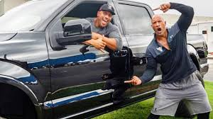 100 Jim Reed Trucks Dwayne The Rock Johnson Surprises Stunt Double With New Truck