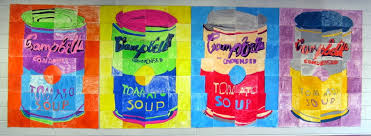 In The Art Room Andy Warhol Mural