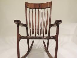 Sam Maloof Rocking Chair Class by Sam Maloof Inspired Walnut Rocking Chair By Yellowtruck75