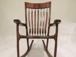 Sam Maloof Rocking Chair Video by Sam Maloof Inspired Walnut Rocking Chair By Yellowtruck75