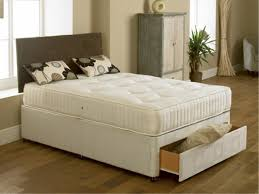 Super King Size Ottoman Bed by Elite Cream Orthopaedic 5ft King Size Zip And Link Divan Bed