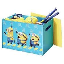 coffre à jouets de rangement minions pixar disney achat vente