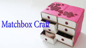 Hand Made Matchbox Craft