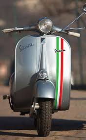 Image Is Loading VESPA Classic Vintage Style ITALIAN Flag Front Fairing