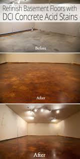 Covering Asbestos Floor Tiles Basement by Get 20 Concrete Basement Floors Ideas On Pinterest Without