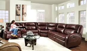 Rustic Sectional Sofa Magnificent Reclining Sectionals In Living Room With Next To Large Leather
