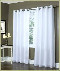 Nicole Miller Home Two Curtain Panels by Sliding Back Door Curtains Panel Curtain Ikea Patio Grommet Home
