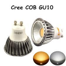5w led gu10 bulb cree cob gu10 spotlight with 50w halogen gu10