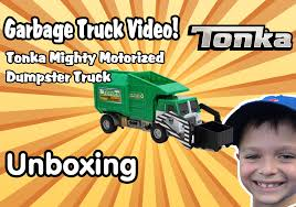 Garbage Truck Videos For Children - UNBOXING Tonka Mighty DUMPSTER ... Disney Pixar Cars Lightning Mcqueen Toy Story Inspired Children Garbage Truck Videos For L Kids Bruder Garbage Truck To The Trash Pack Series Toys Junk Playset Video Review Trucks For With Blippi Learn About Recycling Medium Action Series Brands Big Orange At The Park Youtube Toy Battle Jumping Ramps Best Toys Photos 2017 Blue Maize Zach The Side Rear Loader Car Rubbish Removal Video For Kids More Of Mattels Stinky Stephanie Oppenheim