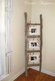 Tree Branch Photo Ladder