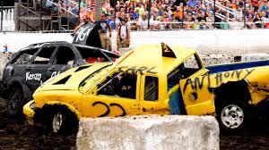 100 Demolition Truck CAR Vs TRUCK Derby 2018 YouTube