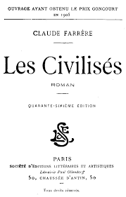 The Project Gutenberg EBook Of Les Civilises By Claude Farrere