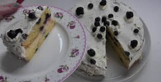 heidelbeer eierlikör puddingcreme torte