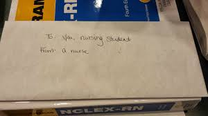 To From Letter Letter To A Nursing Student From A Nurse Kindness