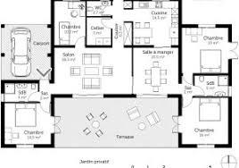 plan maison 4 chambres etage plan maison 4 chambres tage top plan maison moderne