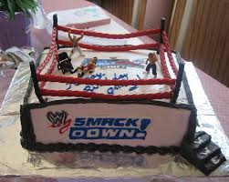 Wwe Raw Cake Decorations by Wrestling Cake Long Sorry Cakecentral Com